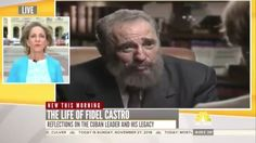 Unbelievable Clips of American Media Mourning and Praising Fidel Castro