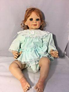 1995 Precious Heirlooms Vinyl Fayzah Spanos Girl Doll Hugs ?- 228/500 Vinyl Dolls, Collector Dolls, Brunei, Beautiful Babies, Trinidad And Tobago, Hugs, Ebay, Women, Fashion