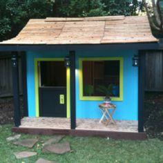 Tropical playhouse