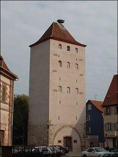 La tour des sorcières de Sélestat