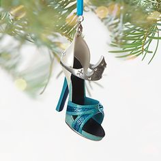 Aurora Shoe Ornament - Disneyland Diamond Celebration, Make it Blue, Item No. 7509055890860P $24.99