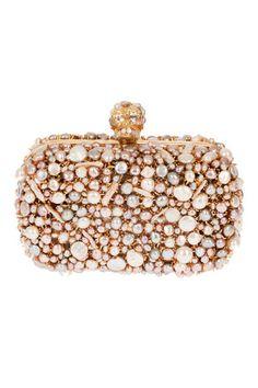 Alexander McQueen : 2012SS box clutch