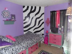 Kids Room On Pinterest Zebra Print Peace Signs And Zebra Bedrooms