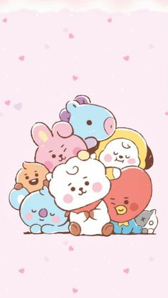 Glitter Wallpaper Iphone, Army Wallpaper, Bts Wallpaper, Wallpaper Doodle, Bts Chibi, Bts Drawings, Kawaii Drawings, Images Kawaii, Bts Aesthetic Pictures