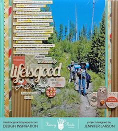 Midwest Scrapgarden: Scrapbooking small vacation stories