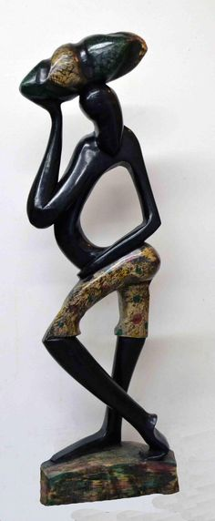 Art African Art Handmade Carved Wood Family by Boriquahafrikanah, $200.00