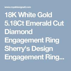 18K White Gold 5.18Ct Emerald Cut Diamond Engagement Ring Sherry's Design Engagement Rings Atlanta | Diamond Rings | Jewelry Store Atlanta, GA | Diamond Necklaces | Fine Jewelry | Diamond Pendants | Loose Diamonds | Anniversary Rings | Benchmark Wedding Bands | Diamond Wedding Rings | Men's Diamond Rings | Diamond Earrings Atlanta