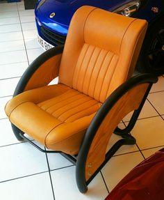 Автомобильное кресло в интерьере: 20 необычных вариантов использования…