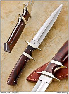 Photos - SharpByCoop's Gallery of Handmade Knives Forging Knives, Blacksmithing Knives, Swords And Daggers, Knives And Swords, Knife Throwing, Dagger Knife, Knife Art, Best Pocket Knife, Cool Knives