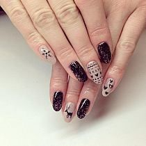 Paznokcie na Stylowi.pl Nails, Floral, Flowers, Beauty, Jewelry, Beleza, Jewellery Making, Ongles, Jewels