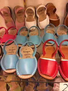 Abarcas Sandals in Menorca