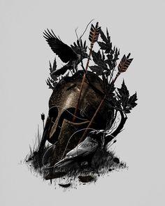 Legends Fall  by nicebleed in Selected Artworks.
