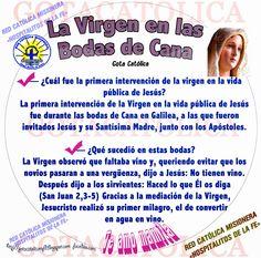 GOTA CATÓLICA: La Virgen en las  Bodas de Cana