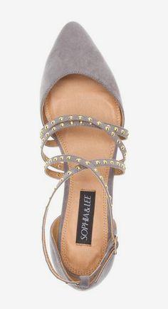 Kima Flat I don't wear heels always looking for a pretty flat shoe