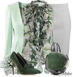"""""""Greens ..."""" by mrsbro on Polyvore"""