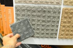 gray carpet for upstairs?   vintage revivals