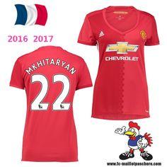 Vente Nouveau Maillot Football Manchester United Femme (Mkhitaryan 22) Domicile…