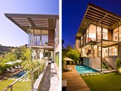 Renovation of Greta Grossman Residence, Waynecrest Drive, Beverly Hills CA | Owner : Darryl Wilson | Renovation Architect : Tony Unruh