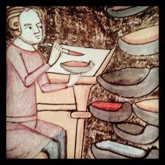 """""""Molt interessant l'exposició 'Pintar fa mil anys. Els colors del #romànic' al @MEV_Vic fins el 14/12"""" Romans, Snow White, Disney Characters, Fictional Characters, Disney Princess, Art, Art Background, Snow White Pictures, Kunst"""