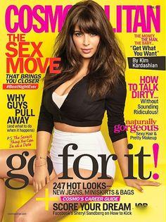 Kim Kardashian - Cosmopolitan Magazine Cover [United States] (April 2013)
