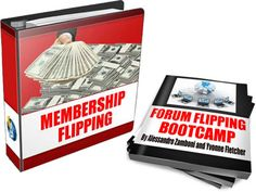 Forum Flipping Bootcamp and Membership Flipping Bootcamp are two WSO I've launched some time ago, and they explain how to build and sell forums and membership websites.