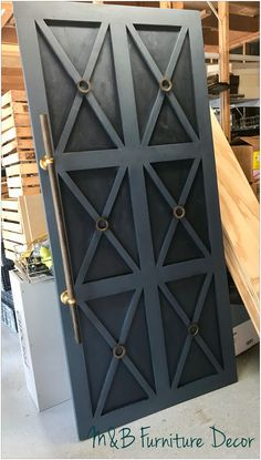 Barn Door by M&B Furniture Decor Llc - September 22 2019 at Interior Barn Doors, Home Interior, Design Interior, Home Design, Barn Door Designs, Furniture Decor, Home Remodeling, New Homes, Decoration