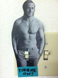 uhm, yes, on every light switch.