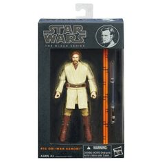 STAR WARS : Costumes and Toys : Star Wars Action Figure - Black Series 2013 - Obi-Wan Kenobi 6-inch