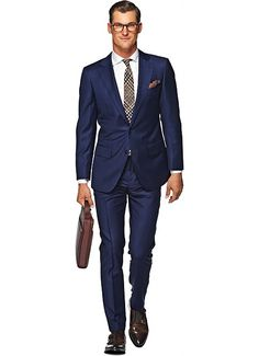 Suitsupply Suits: Soft-shoulders, great construction with a slim fit—our tailored, washed and formal suits are ideal for any situation. Mens Fashion Suits, Mens Suits, Men's Fashion, Suit Supply, Formal Suits, Mens Fall, Wedding Suits, Suits You, Vintage Men