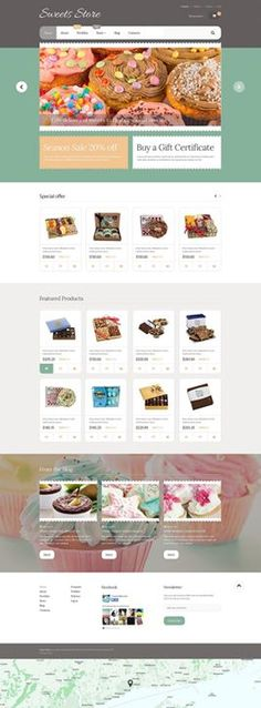 In love!!!   Yummy Sweets WooCommerce Theme CLICK HERE! live demo  http://cattemplate.com/template/?go=2fNn3yL
