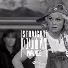Leslie Knope....or should I say....Straight Outta....EAGLETON!!!!!!!!!