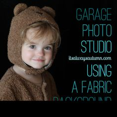 Tweet Pin It ***Want to take better Halloween photos this year? Don't wait until the kids are heading out the door to snap pictures – have them give their costumes a trial run a few days in advance and get some fantastic photos in your garage!*** Hiring a pro to take photos of your kids …