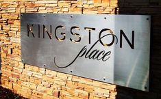 We do all types of custom metal laser cut commercial signs. Contact us if you are interested! Hotel Signage, Entrance Signage, Office Signage, Outdoor Signage, Exterior Signage, Farm Entrance, Wayfinding Signage, Laser Cnc, Laser Cut Metal