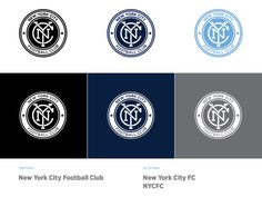 Branding, logo design and strategy for NYCFC
