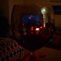 Through the wine glass x