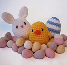 Amigurumi Easter Decorations - FREE Crochet Pattern / Tutorial