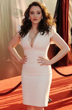 So beautiful, curvey and funny!  Kat Dennings
