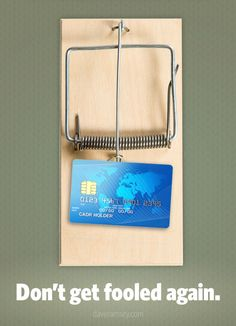 Dont Get Fooled Again - Credit Card mouse trap - Dave Ramsey