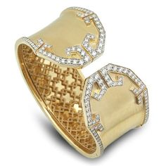 JEWELS GLOBE CUFFS | ... Trump Jewelry Adds Splash of Color to New Collections | Jewels du Jour