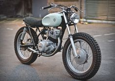 Yamaha SR250 Type 4 Auto Fabrica #motorcycles #motos | caferacerpasion.com