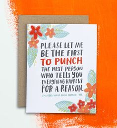 """Emily McDowell """"greeting"""" cards... cards you'd actually want to give someone or be given."""