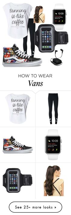 """""""Ready to Run!"""" by imanaw on Polyvore featuring adidas Originals, Dorothy Perkins, Vans, iWorld and Marika"""
