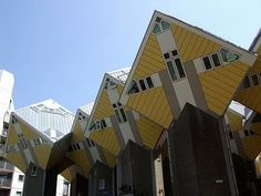 The Cubic Houses in Rotterdam