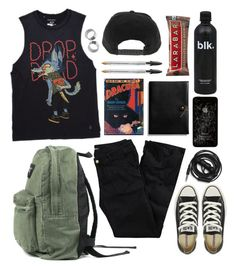 """Press my shoes against the pavement"" by theaserr ❤ liked on Polyvore featuring H&M, Converse, Urbanears, Coach and modern"
