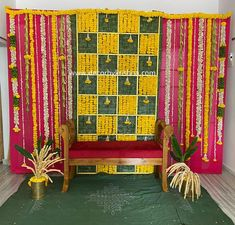 Housewarming Decorations, Diy Baby Shower Decorations, Backdrop Decorations, Backdrops, Lion Birthday Party, Birthday Celebration, Function Hall, Eco Friendly House