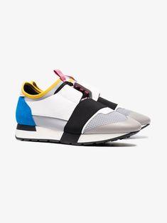 Balenciaga multi coloured race runner sneakers Color Race, Balenciaga, Sneaker, Slippers, Shoes Sneakers, Plimsoll Shoe, Tennis, Keds, Trainers