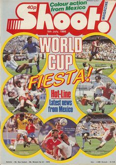 World Soccer Magazine, English Football League, Football Images, My Childhood Memories, World Cup, Magazines, Wordpress, Archive, Mexico