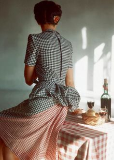 Extraordinary Color Fashion Photography Taken During the 1940s by John Rawlings ~ vintage everyday