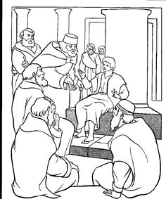 Jesus in the temple coloring pages ~ 1000+ images about GUMC - Childrens Bible Study - Luke on ...