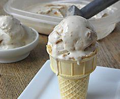 Low Carb Peanut Butter Swirl Frozen Yogurt
